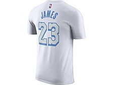 Los Angeles Lakers 2020 City Edition Player T-Shirt LeBron James