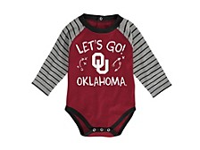 Newborn Oklahoma Sooners Touchdown Long Sleeve Creeper & Pant Set