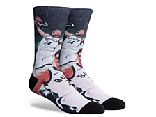 Parkway Men's Milwaukee Bucks Voltage Crew Socks