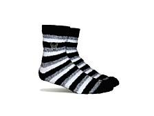 Women's Milwaukee Bucks Fuzzy Steps Socks