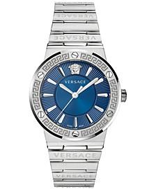 Women's Swiss Stainless Steel Bracelet Watch 38mm