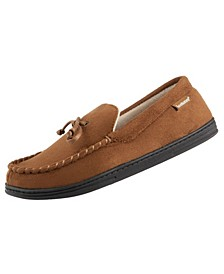 Men's Slip-On Microsuede Moccasin with Bow