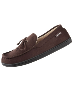 Signature Men's Slip-On Microsuede Moccasin with Bow