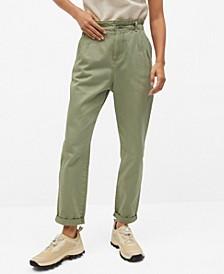 Women's Waist Straight Slouchy Jeans