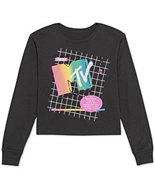 Juniors' MTV Graphic Top