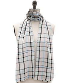 INC Woven Plaid Pashmina Scarf, Created for Macy's