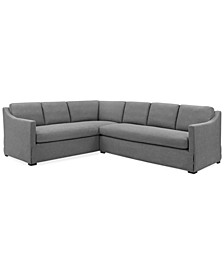 Classic Living 2-Pc. Fabric Sectional, Created for Macy's