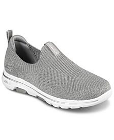 Women's Gowalk 5 - Trendy Slip-On Walking Sneakers from Finish Line