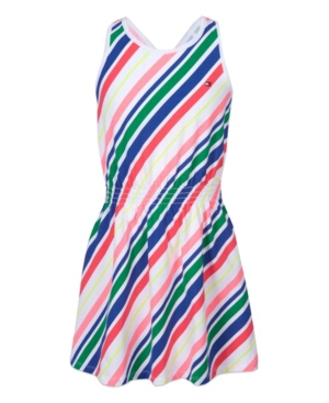 Tommy Hilfiger LITTLE GIRLS FIT AND FLARE DRESS