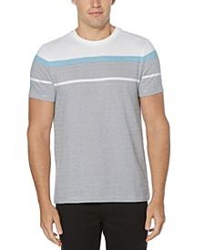 Men's Jacquard Stripe Short Sleeve Tee