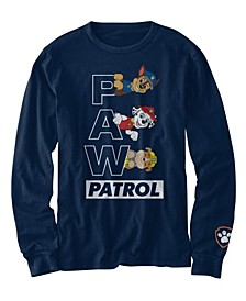 Toddler Boys Paw Patrol Crew Long Sleeve T-shirt