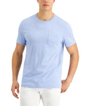 Men's Solid Pocket T-Shirt