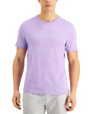 Club Room T-shirts MEN'S SOLID CREWNECK T-SHIRT, CREATED FOR MACY'S
