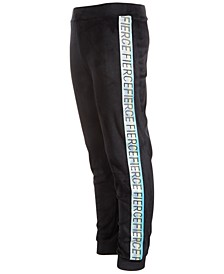 Big Girls Velour Taped Sweatpants, Created for Macy's