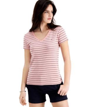 Tommy Hilfiger COTTON STRIPED T-SHIRT