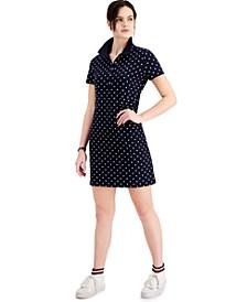 Polka Dot Polo Dress