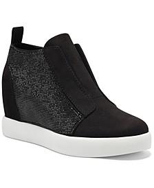 INC Wesla Wedge Sneakers, Created for Macy's