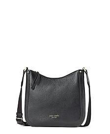 Roulette Medium Leather Messenger Bag