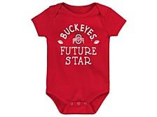 Ohio State Buckeyes Newborn Future Star Creeper