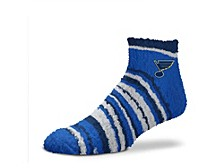 St. Louis Blues Muchas Rayas Sleepsoft Socks