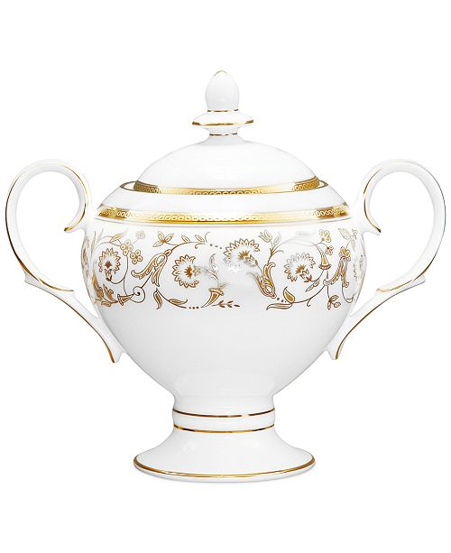 Noritake Summit Gold Sugar Bowl