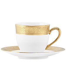 Lenox Westchester Espresso Cup and Saucer Set
