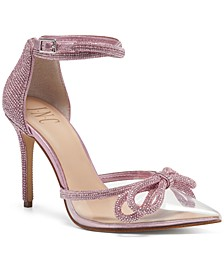 Women's Lidani Pointed-Toe Clear Vinyl Pumps, Created for Macy's