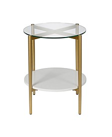 Otto Side Table with Shelf