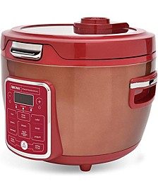 ARC-1230R 20-Cup Cooked Glass Lid Digital Rice Cooker