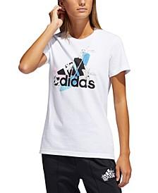 Women's Cotton Logo-Graphic T-Shirt