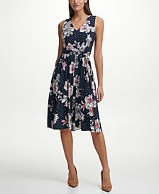Bloom Floral Fit & Flare Dress