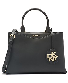 Dayna Medium Leather Satchel