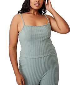 Women's Trendy Plus Size Renee Rib Camisole