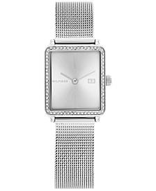 Women's Stainless Steel Mesh Bracelet Watch 21mm