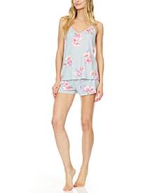 Annette Cami & Tap Shorts Pajama Set