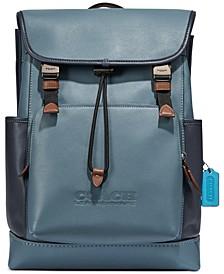 Men's Colorblock League Flap Backpack