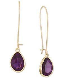 Stone Linear Drop Earrings, Created for Macy's