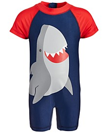 Toddler Boys 1-Pc. Shark Rash Guard, Created for Macy's
