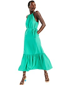 INC Halter-Style Maxi Dress, Created for Macy's