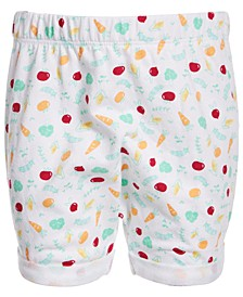 Baby Boys Veggie-Print Shorts, Created for Macy's
