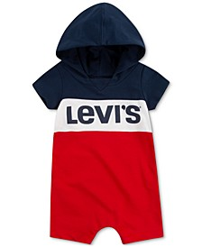 Baby Boys Hooded Romper
