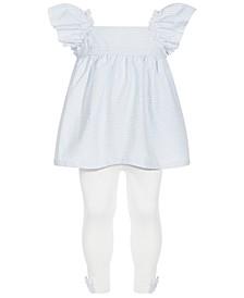 Toddler Girls 2-Pc. Seersucker Tunic & Leggings Set, Created for Macy's