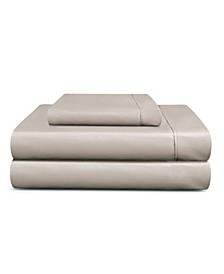 Cooling Planet Anti-Microbial 410 Thread Count 3-Piece Sheet Set, Twin XL