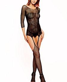 Women's One Piece Elegant Lingerie Body Stocking