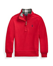 Little Boys Quarter-Zip Pullover