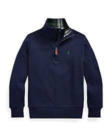 Little Boys Quarter-Zip Pullover