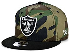 Las Vegas Raiders Woodland Team Color 9FIFTY Cap