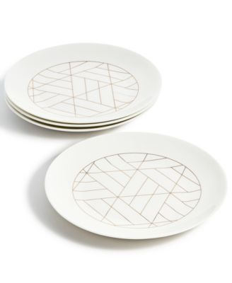 Set/4 Coupe Salad Plate, Created for Macy's