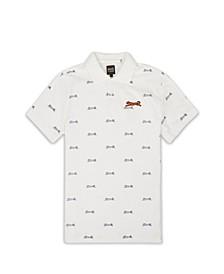 Men's Bridge Allover Polo T-shirt