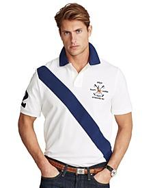 Men's Custom Slim Fit Mesh Polo Shirt